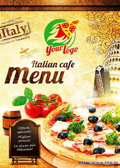 italian menu template free 100 great restaurant food menu print templates 2016 frip in