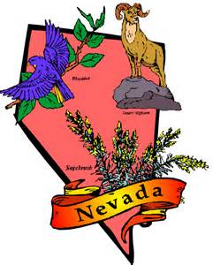 nevada state flag coloring page
