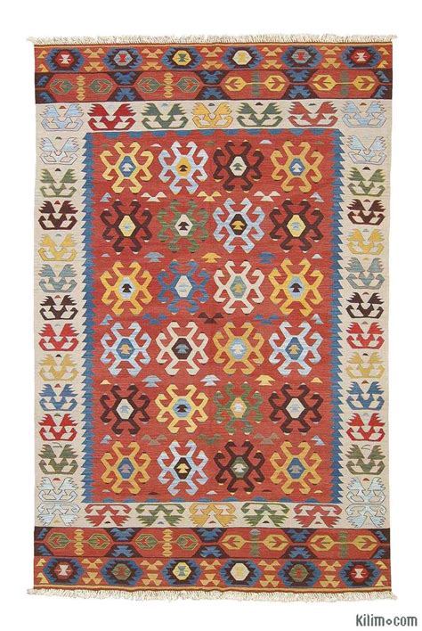 turkish kilim rug k0003877 multicolor new turkish kilim area rug