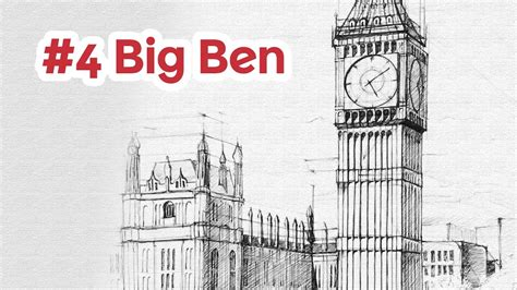 big ben perspective drawing 4 architecture