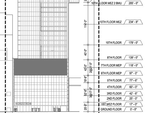 100 floors level 57 tower new drawings appear for 225 west 57th the tallest