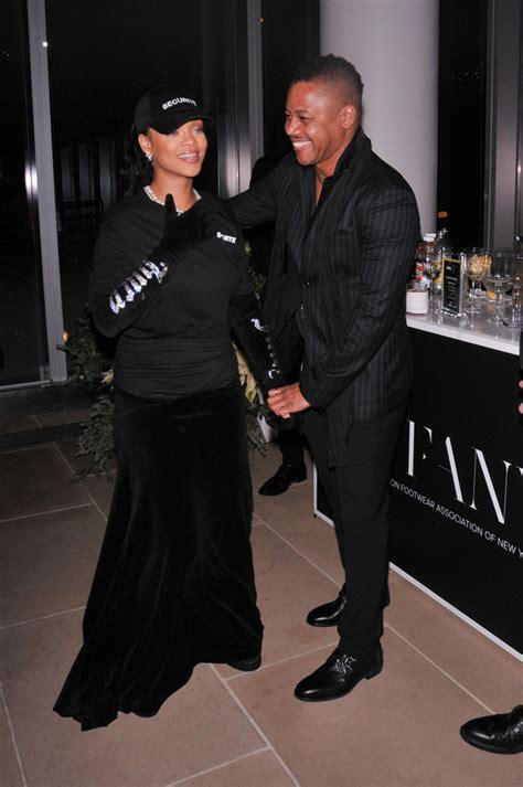 Rihanna Cuba Gooding Jr | here s a look inside the footwear news achievement awards