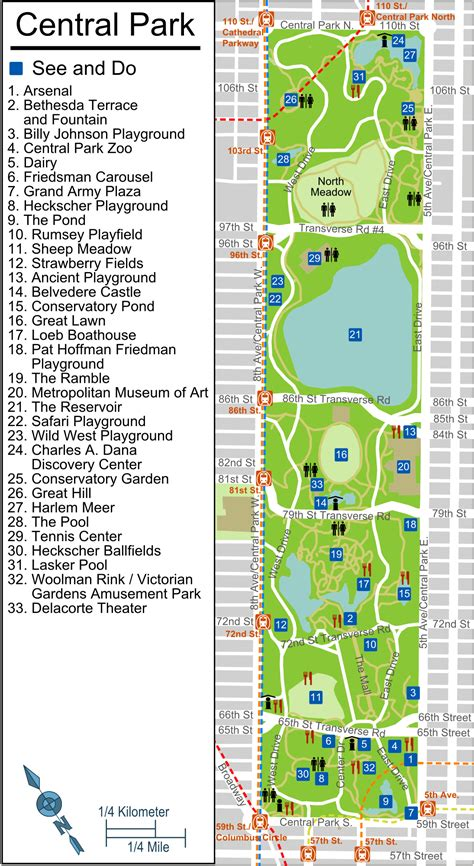 central map mappe new york
