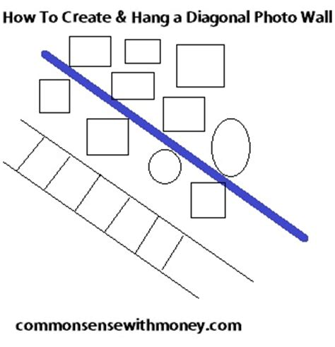 how high to hang pictures on wall how to create and hang a photo wall gallery