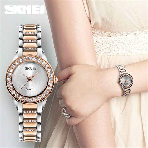 Jam Tangan Wanita Skmei 1133 skmei jam tangan analog wanita 1262 silver
