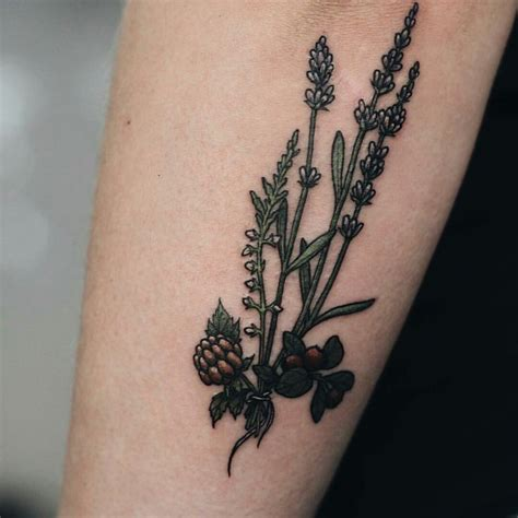 heather flower tattoo designs 8 best images on botanical