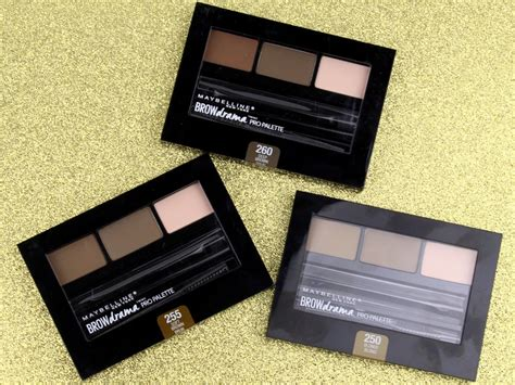 Maybelline Eyebrow Palette maybelline brow drama pro palette review photos swatches realizing