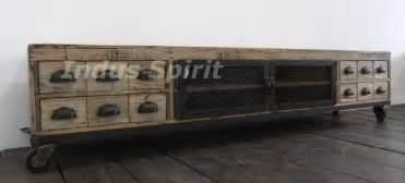 meuble tv industriel bois et m 233 tal