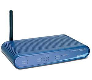 Trendnet Tew 435brm 54mbps Wireless G Adsl Modem Router
