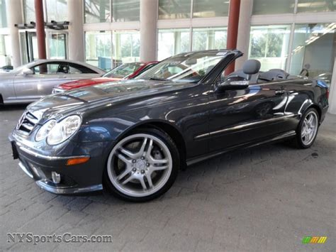 Mercedes Clk 550 by 2009 Mercedes Clk 550 Cabriolet In Steel Grey