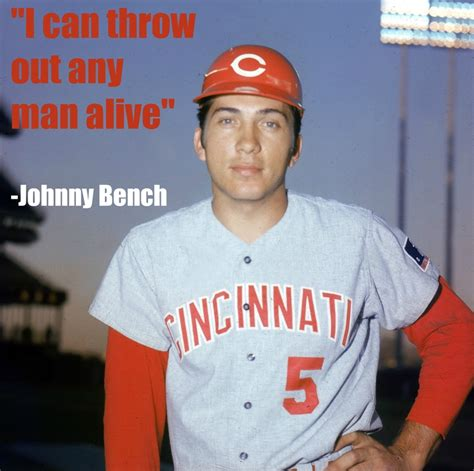 how old is johnny bench 176 best images about johnny bench on pinterest