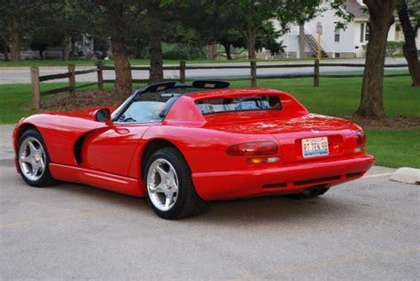 dodge viper 1998 dodge viper rt 10 for sale 1777351 hemmings motor news occasion le parking sold gt 1998 dodge viper rt 10 roadster
