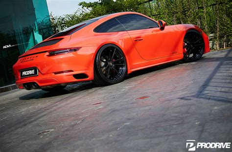 porsche orange orange porsche 911 carrera gts adv5 2 m v2 sl series