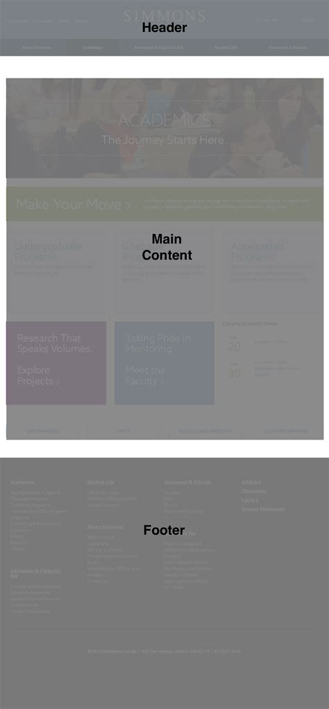 css layout exercises simmons layout exercise comm 328 responsive web design