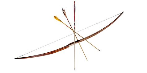 How To Make A Bow And Arrow With Paper - how to make a bow and arrow by