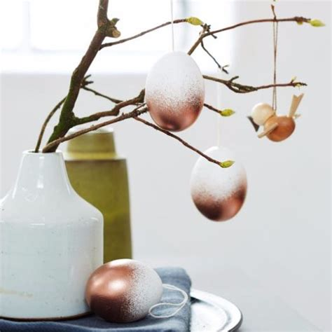 Modern Home Decoration Trends And Ideas by Creative Easter Decorations In Black White And Gold