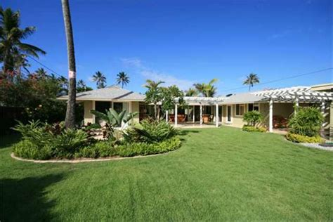 kailua home for sale and funky tropical paradise in
