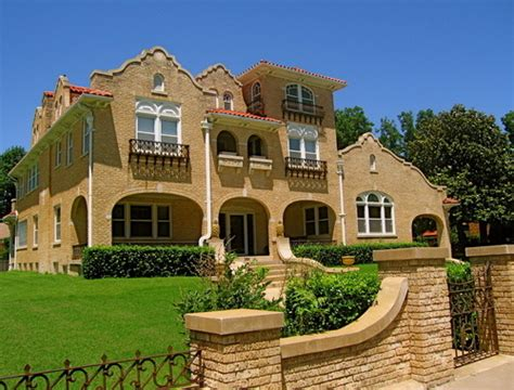 spanish houses enid ok spanish style house on owen k garriott photo picture image oklahoma at
