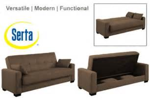 napa contemporary sleeper futon bed brown sleeper sofa