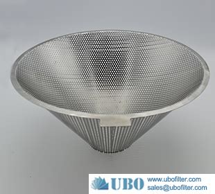 stainless steel316hc filter strainer baskets stainless steel 304 316 cone filter punching screen basket punching filter manufacturers