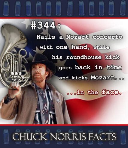 Know Your Meme Chuck Norris - chuck norris and the french horn facts chuck norris
