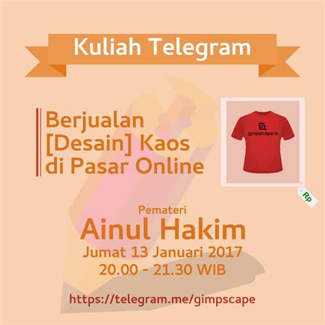 desain kaos online di hp berjualan desain kaos di pasar online gimpscape id