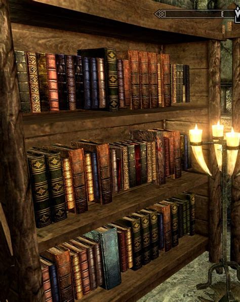 bookshelves script skse at skyrim nexus mods and community