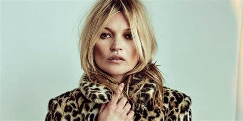 Who Is The Real Kate Moss by Kate Moss Reveals Saunders Opened Real Bottles Of
