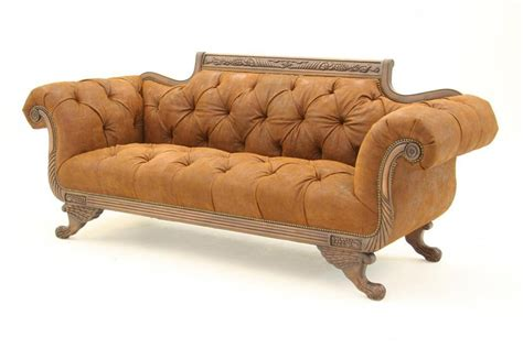 original duncan phyfe sofa duncan phyfe sofa tufted high quality leather