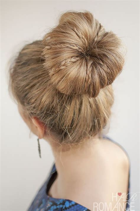 beautiful buns hairstyles dailymotion 17 best images about 30 buns in 30 days on pinterest