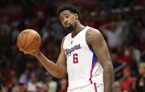 deandre jordan tattoos deandre 2018 haircut beard weight