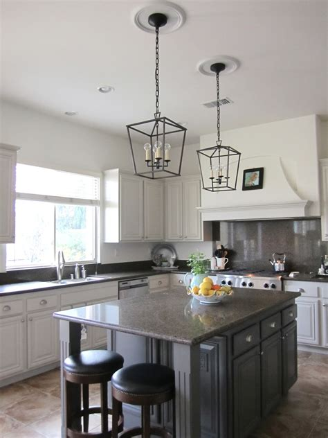 Center Island Light Fixtures A Phased Decorating Approach Classic Casual Home