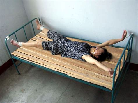 tied to bed ms yan zongfang from sichuan province dies as a result of