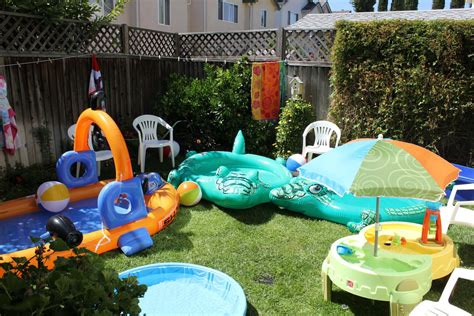backyard beach party high school pre school diapers it s a beach party