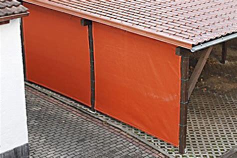 carport seitenwand carport seitenwand verkleiden mit pvc plane oder