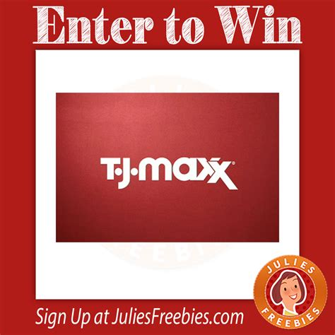 Tj Maxx Sweepstakes - t j maxx holiday sweepstakes julie s freebies