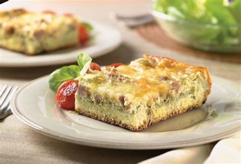 egg strata overnight egg cheese strata recipe dishmaps