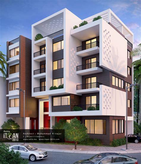 modern residential house plans numberedtype احد اعمالي وتصميم احد المباني السكنية على الطراز الحديث