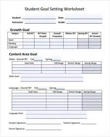 Goal Planning Template by Goal Setting Template 12 Free Documents In Pdf