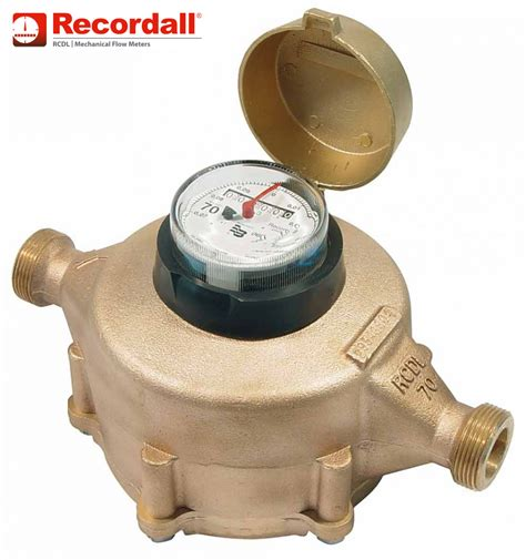 recordall nutating disc positive displacement meter
