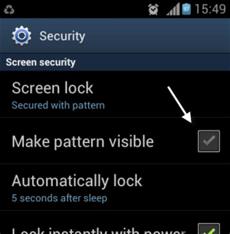 android pattern lock hide android how to hide patterns when unlocking the phone