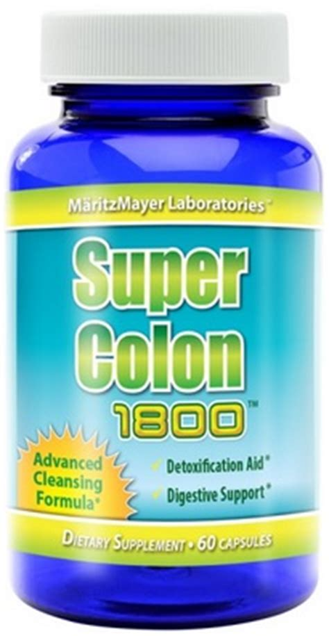 Advanced Detox Solutions Ultimate Cleanser Reviews by Colon 1800 Advanced Detox Cleansing Formula