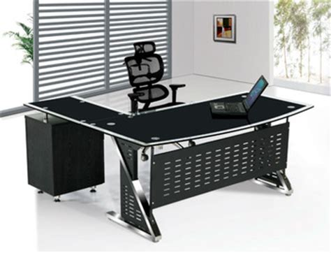 glass stainless steel desk glass executive desk stainless steel glass computer desk