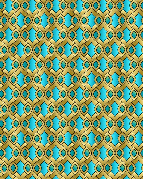 abstract islamic pattern islamic abstract seamless pattern free stock photo