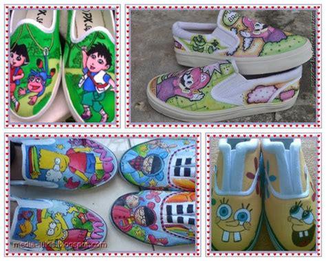 Sepatu All Lukis sepatu lukis anak