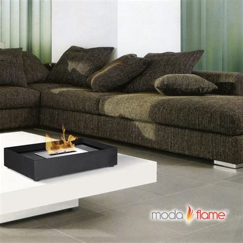 moda rubi table top indoor outdoor ethanol fireplace