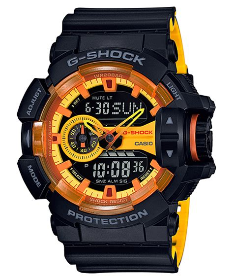 Casio G Shock Ga 110by 1a New Original ga 400by 1a special color models g shock timepieces