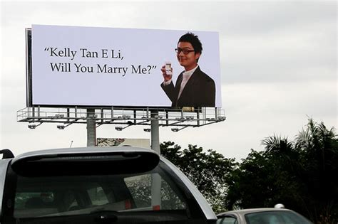 10 Unique Ways For A To Propose by 9 Rent A Billboard Sign 10 Unique Ways For A To