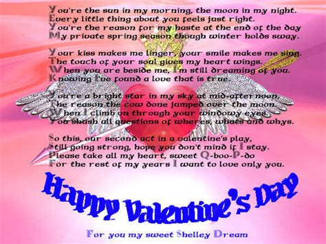 valentines poem for s day poems poetry of xcitefun net