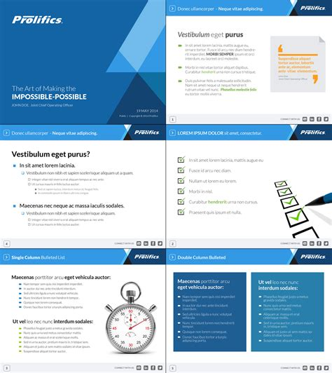 design powerpoint corporate upmarket bold powerpoint design for prolifics by ayzeek